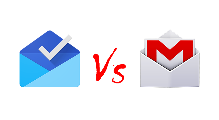 Inbox vs Gmail