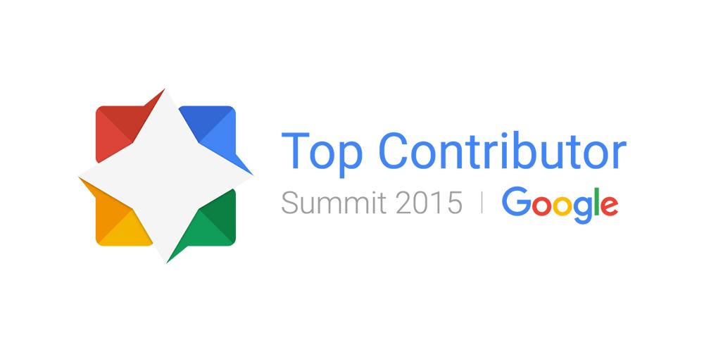 Top Contributor Summit 2015