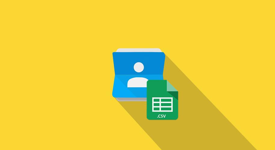 Gmail Contatti CSV