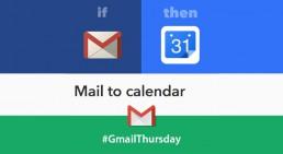 Creare eventi in Calendar da email di Gmail