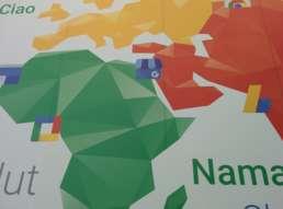 Pannello di Benvenuto al Google Top Contributor Summit 2015
