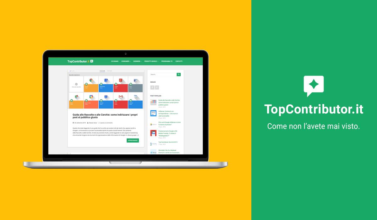 Nuovo sito TopContributor.it