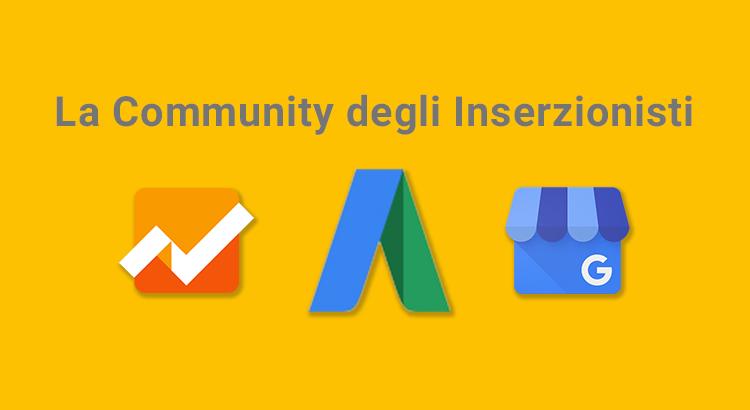 Community degli Inserzionisti Google