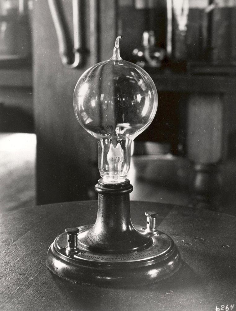edison lampadina : Edison prima lampadina