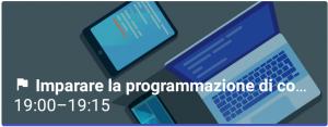 Obbiettivo imparare la programmazione