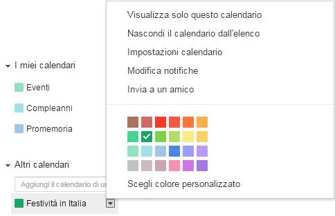 Altri calendari Festività in Italia