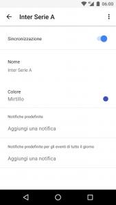 Google Calendar Sincronizza Calendario su Android