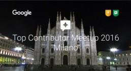 Top Contributor Meetup Milano