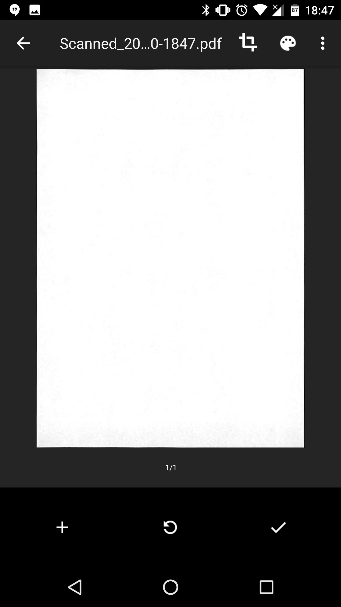 Google Drive - Scansione documenti