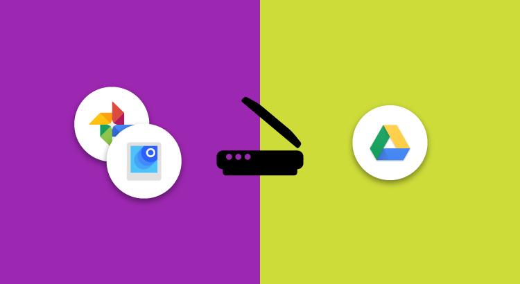 PhotoScan e Google Drive per scannerizzare foto e documenti