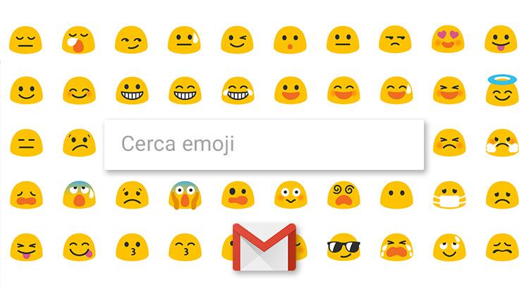 Ricerca emoji in Gmail