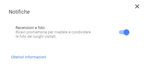 Google Maps (Notifiche)