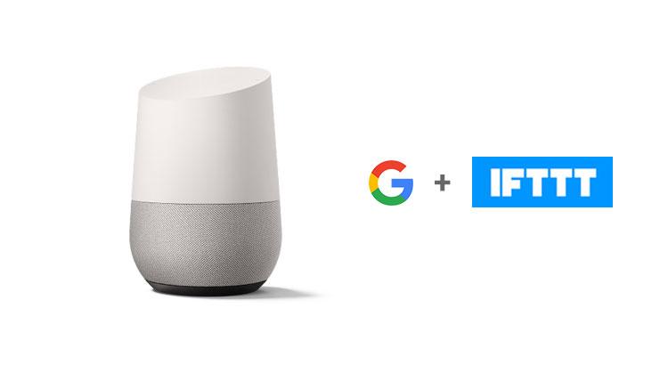 IFTTT e Google Home