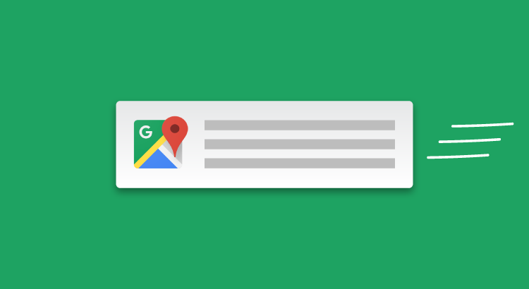 Notifiche in Google Maps