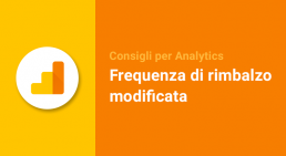 Frequenza di rimbalzo modificata Analytics