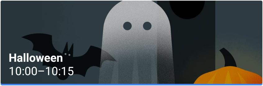 Halloween Evento Google Calendar