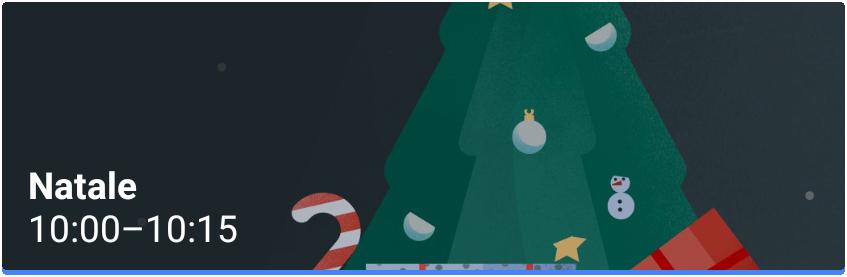 Natale Evento Google Calendar