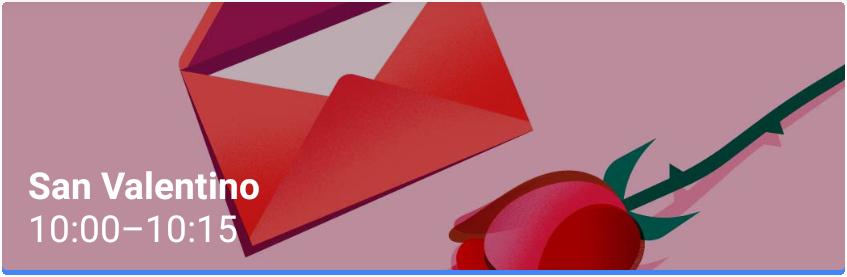 San Valentino Evento Google Calendar