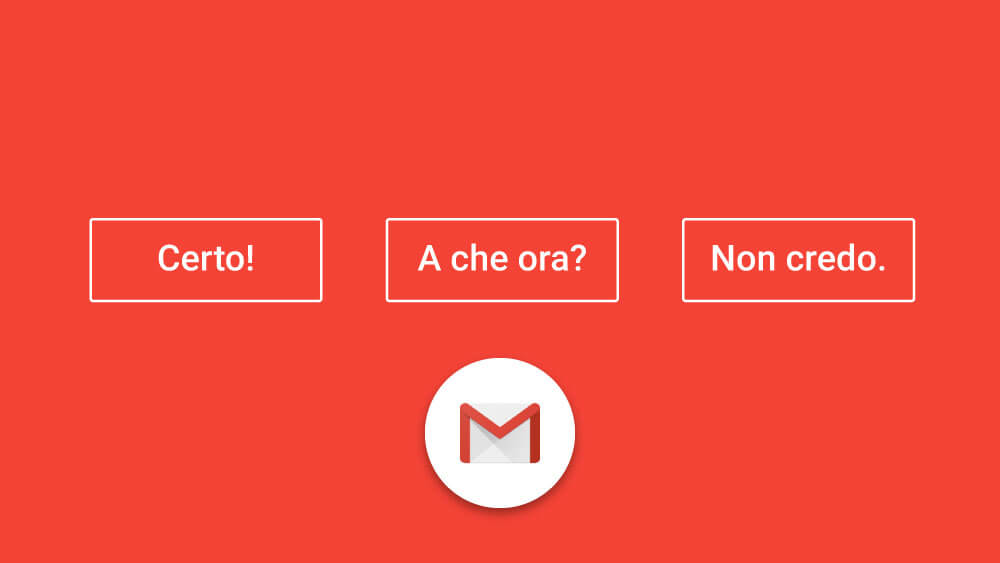 Smart Reply in Gmail