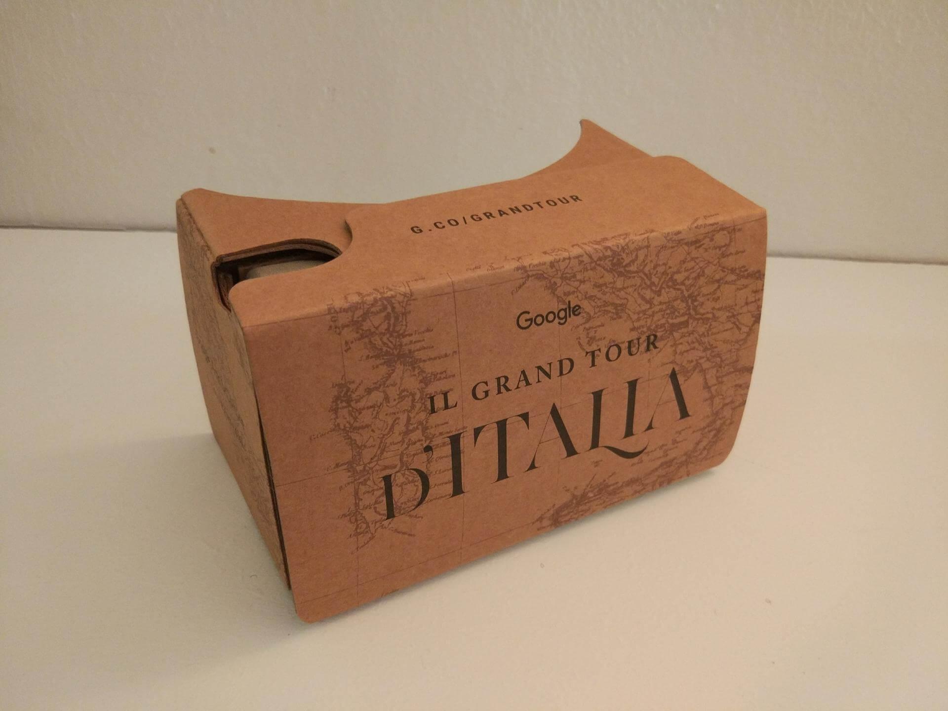 cardboard grand tour d italia