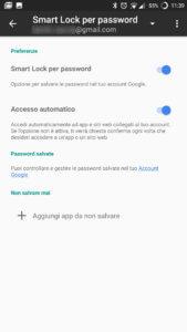Smart Lock per password