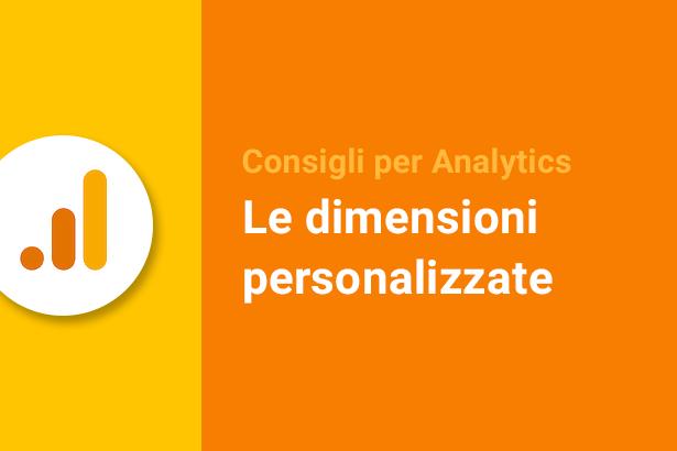 dimensioni personalizzate Analytics