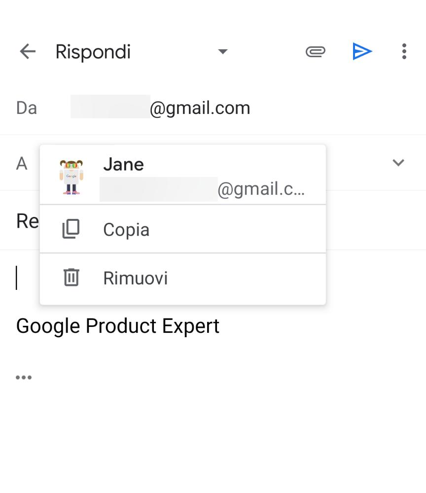 Nuova funzione per Gmail Android